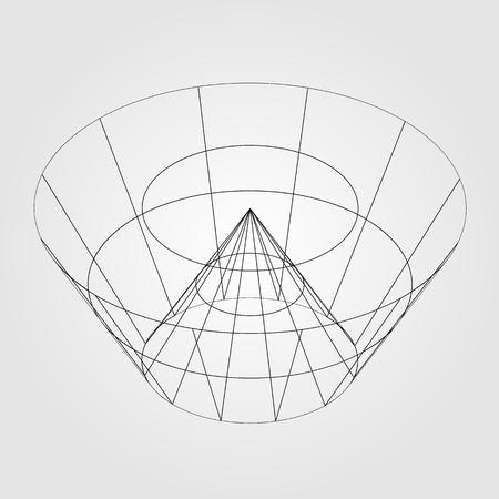 3d alambre render objeto Foto de archivo - 38768716
