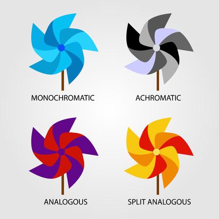 Set of Color schemes