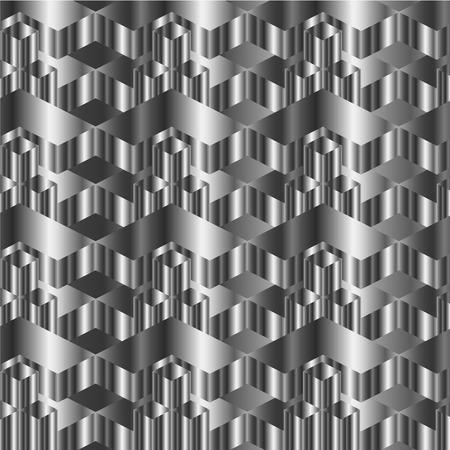 warped: Corrugated metal texture