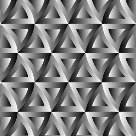 optical: Optical illusion with triangles Illustration