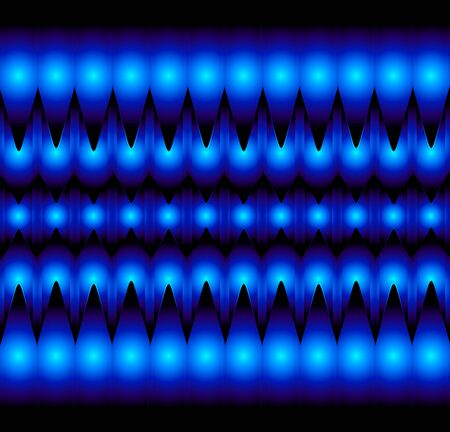 tectonic: Optical illusion abstract background Illustration