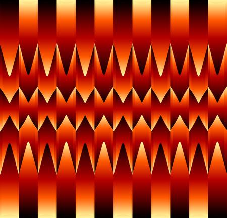 目の錯覚の抽象的な背景