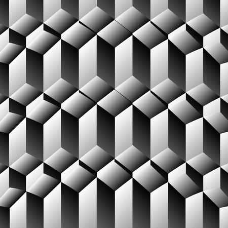 optical illusion: Optical illusion with steps Illustration