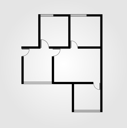 a small house: Plan of a small house