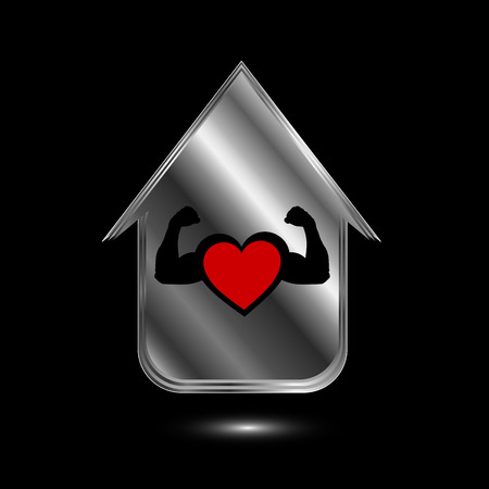 House with a healthy heart