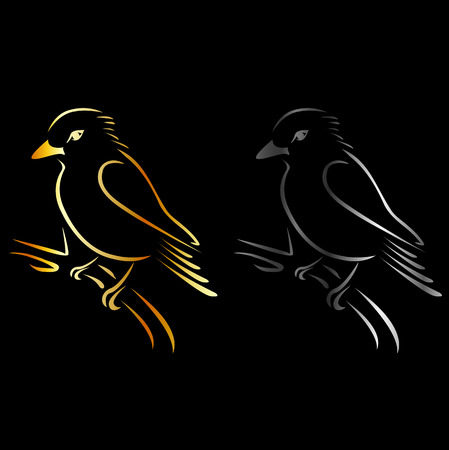 Logo for exotic bird business- a beautiful kingfisher Çizim