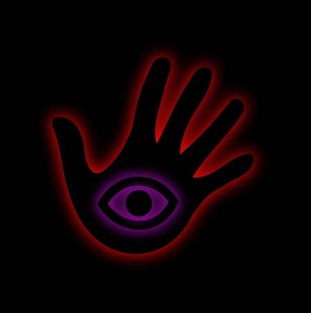The All Seeing Eye- illuminati Illustration