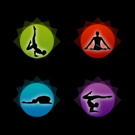 Yoga pilates set