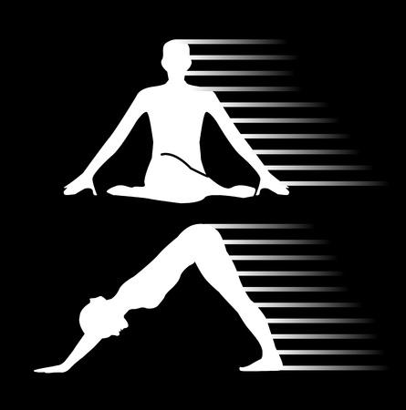 shiatsu: Meditation and yoga energy