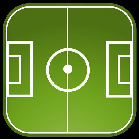 to soccer: Soccer field