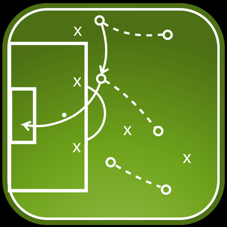 tactics: Football tactics board