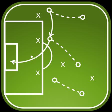 Fußball Taktik Bord
