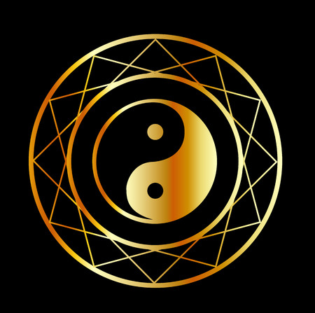 daoism: Golden symbol of Taoism Daoism