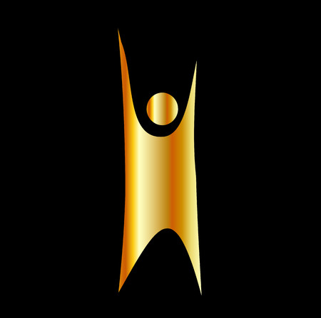 Golden symbol of Humanism
