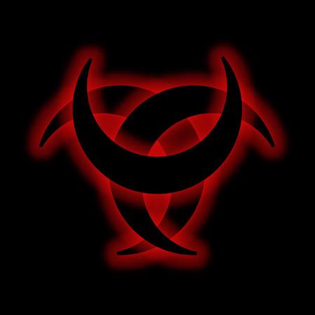 frenzy: Horned Triskele- The horn of Odin