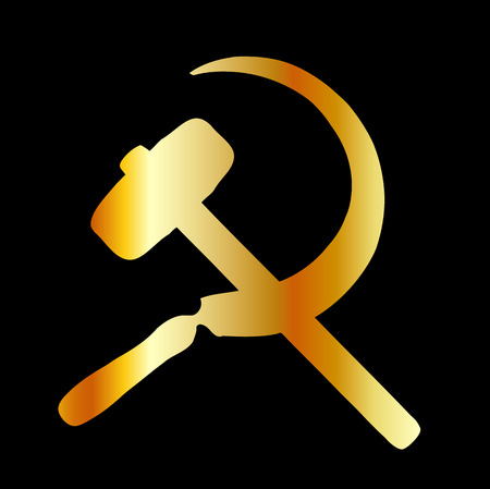 sickle: hammer and sickle Symbol