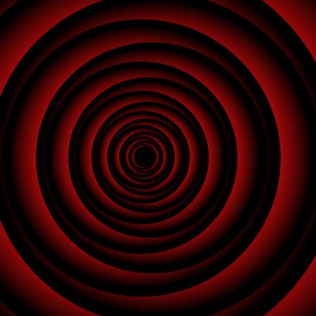 Artwork forming illusion of rose petal 向量圖像