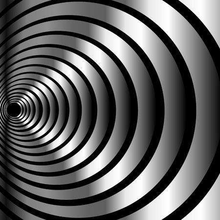 metallic: Metallic optical illusion