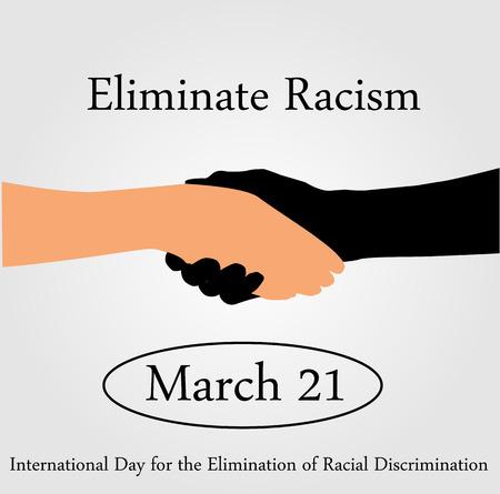 racismo: D�a Internacional para la eliminaci�n de racismo- 21 de de marzo de