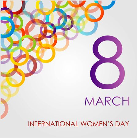 ecard: Colorful Ecard for womens day
