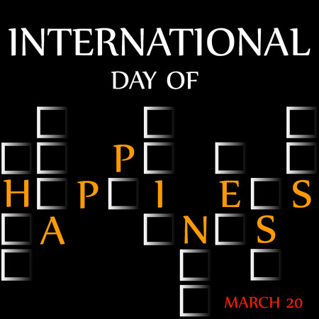 Day of Happiness- Commemorative Day March 20 card