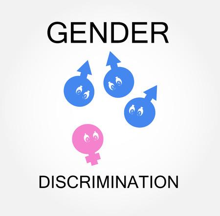 brother brotherhood: Gender discrimination Illustration