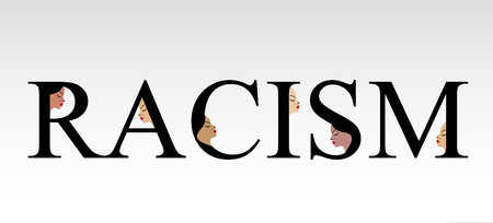 brother brotherhood: Text racism with faces of women
