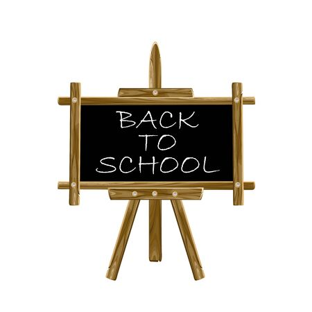 Back to school easel board