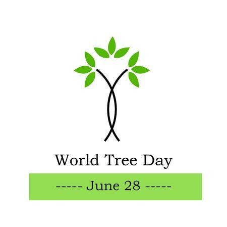 herbalist: �rbol del mundo d�a de junio, 28 de Vectores