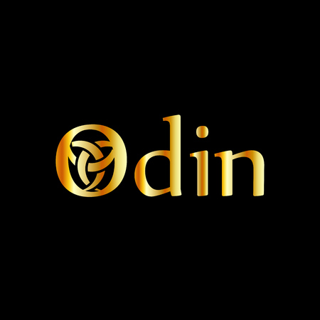 Odin- The graphic is a symbol of the horns of Odin, a satanist symbol