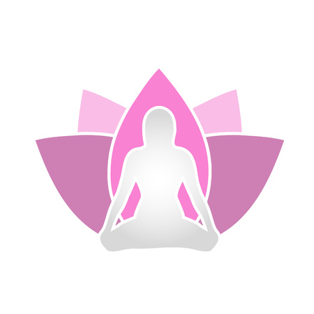 The lotus is symbolic of purity of the body, speech, and mind. The lotus is rooted on mud and appears to be floating on waters. Its attachment to mud symbolizes desire. Ilustração
