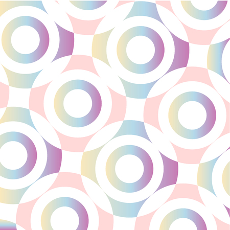 Concentric circular ring background Иллюстрация