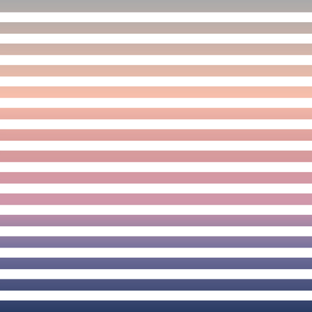 Horizontal pinstripes in soft colors Illustration