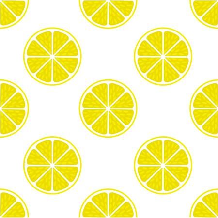 Bright Lemon slice background