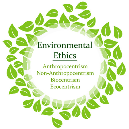 The 4 Environmental Ethics Illustration