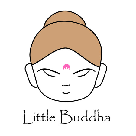 Face of Little Buddha