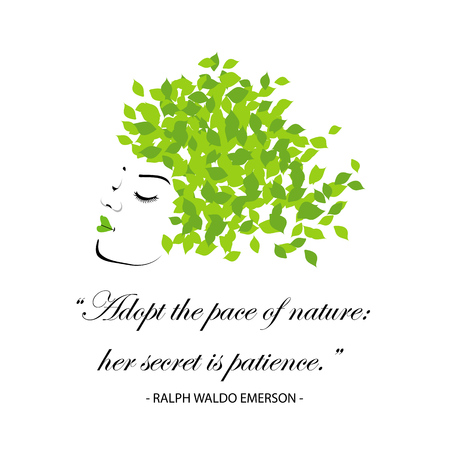 Quotes for nature- Adopt the pace of nature, her secret is patience. Happy Earth day