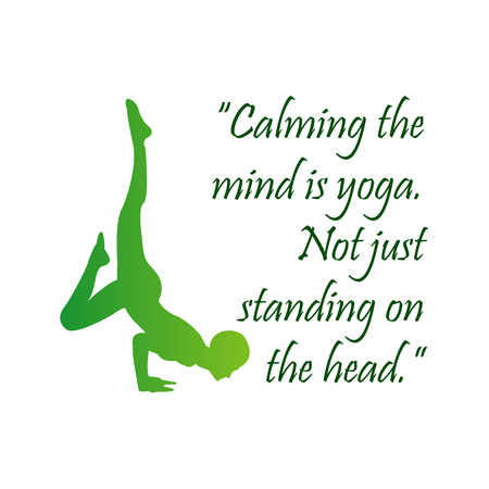 Quote about yoga.