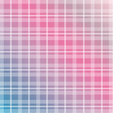 Modern check grid plaid pattern texture in soft pink and blue