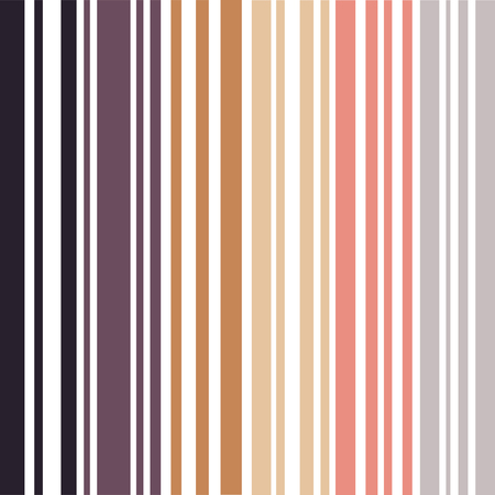 Earth colored pinstripes in soft murky colors Illustration