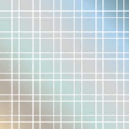 Soft earth tone gridlines contemporary plaid pattern Stock Illustratie