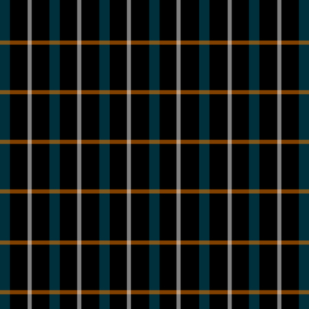 Modern check grid plaid pattern texture in soft orange and blue