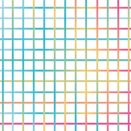 Seamless geometric grunge striped colorful lines pattern