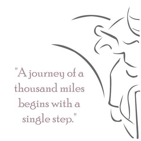 A famous Chinese proverb teaches that even the longest and most difficult ventures have a starting point; something which begins with one first step