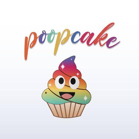 Unicorn cupcake- kawaii magical fairy cream cake