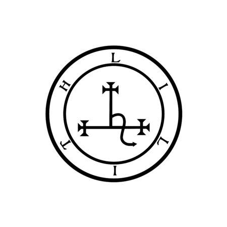 Sigil of Lilith- Female demon Lilith symbol