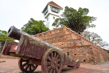Anping Old Fort in Tainan, Taiwan. Anping Fort is built on the foundations of the Dutch run named Fort Zeelandia.