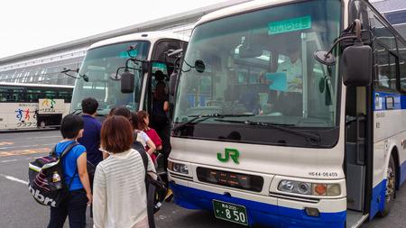 Take the JR Bus Tohoku toward Oirase Stream.