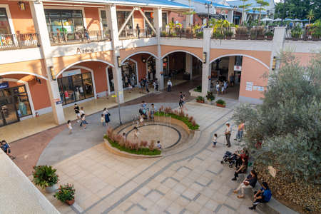 LIHPAO OUTLET MALL, a part of LIHPAO RESORT, which is next to the theme park LIHPAO LAND. Houli District, Taichung city, Taiwan
