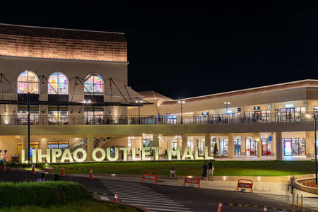 LIHPAO OUTLET MALL, a part of LIHPAO RESORT, which is next to the theme park LIHPAO LAND. Houli District, Taichung city, Taiwan.